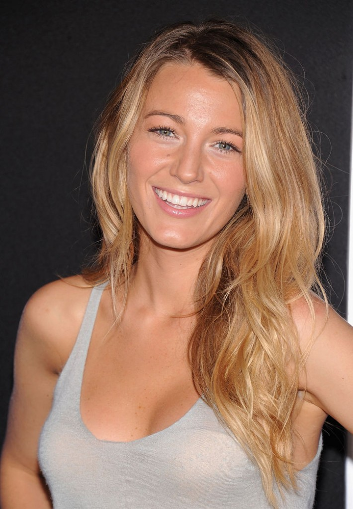 Blake Lively without make up
