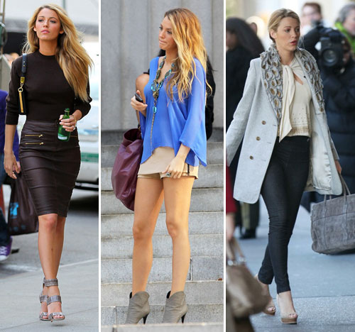 Blake Lively Street Style Blake Lively In The Town